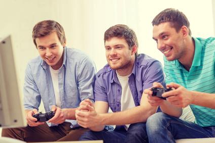 Gaming Beamer Test